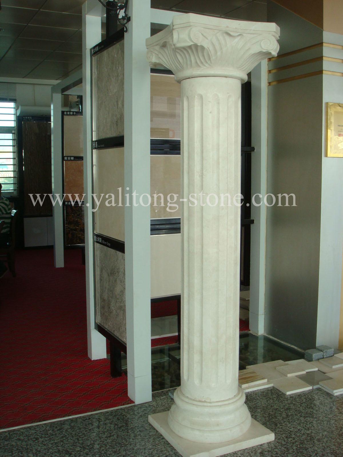 Granite Stone Columns : China marble granite stone column and pillar ylt