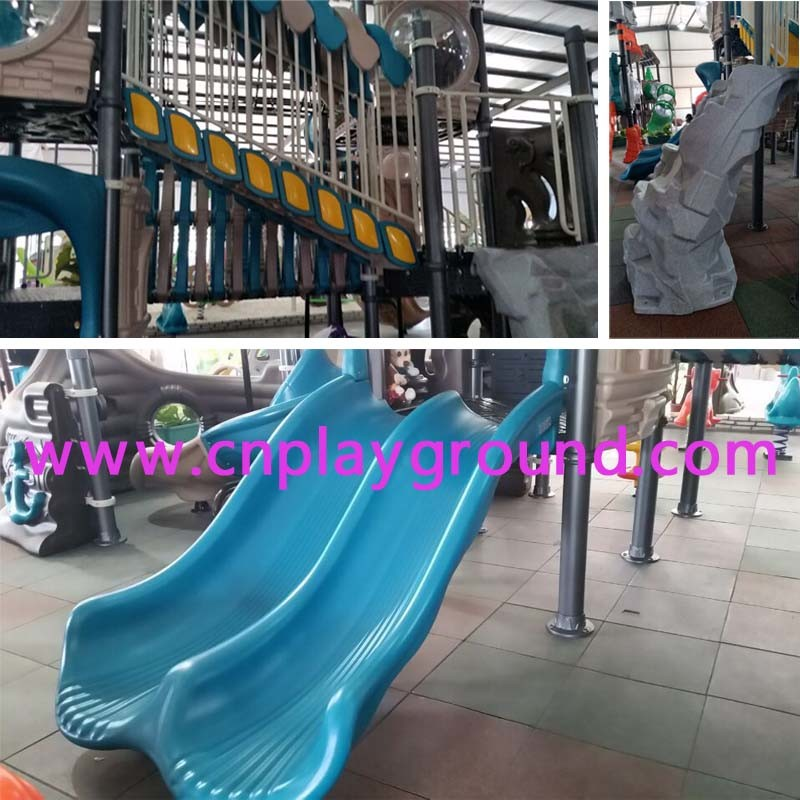 New Design Amusement Park Outdoor Playground Equipment (HK-50052)