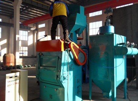 Tumblast Rubber Shot Blast Cleaning Machine (Q326C DIA. 650mm)