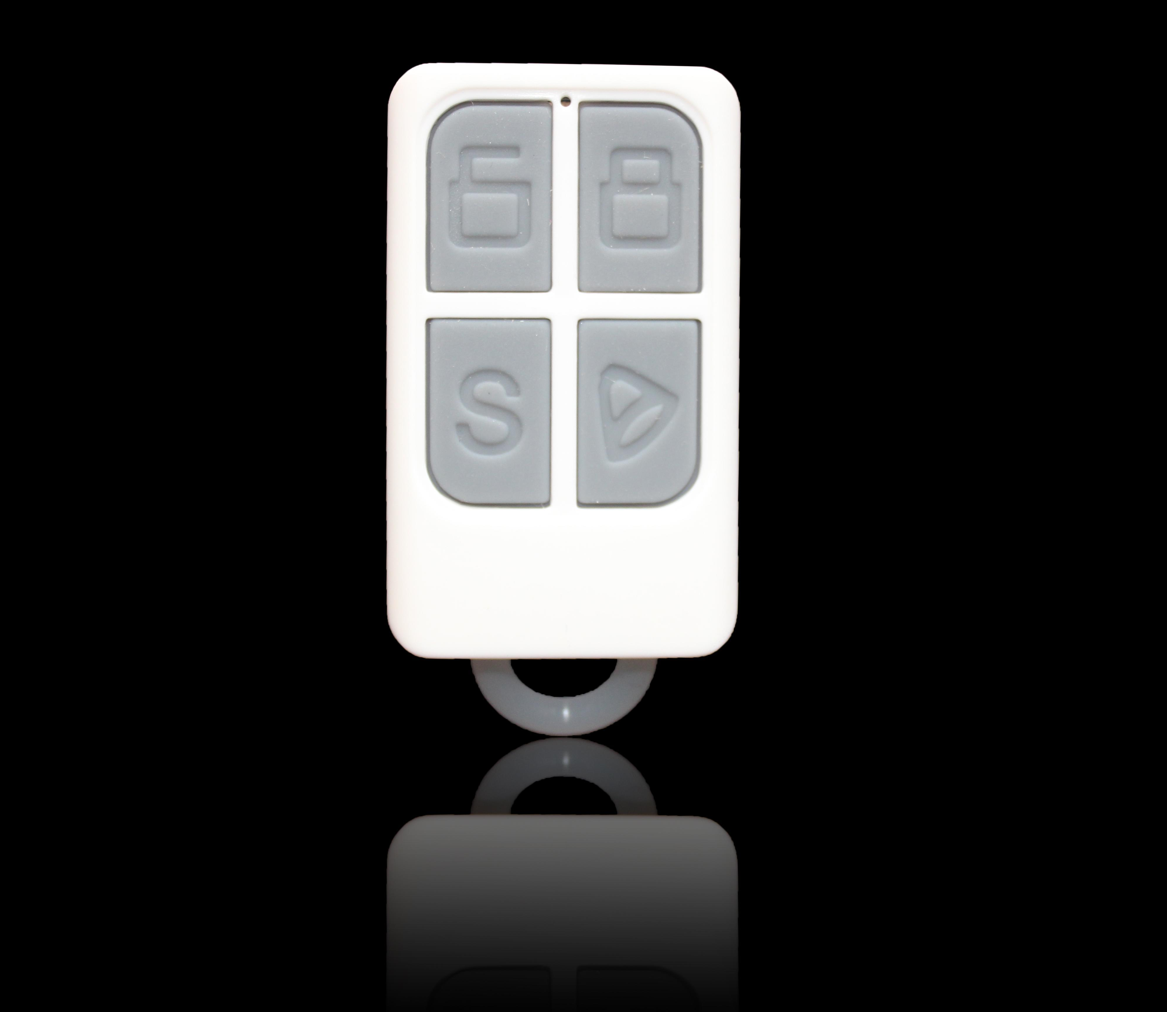 Cheap and Mini Wireless Alarm Control Remote with 315/433MHz and 1527 Code