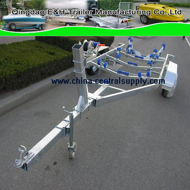 Wholesale Buy Supplier Sale Big Hydraulic Steel Galvanized 7.3m Boat Trailer (BCT0108)