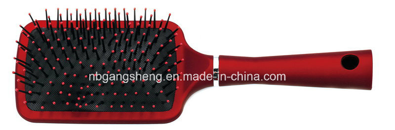 Rubber Painting Hair Brush with Cushion