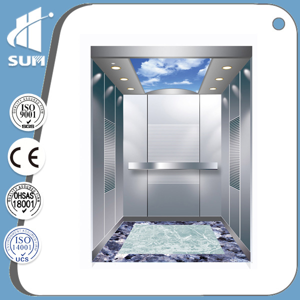 Speed 1.0m/S with Machine Room Elevator Parts