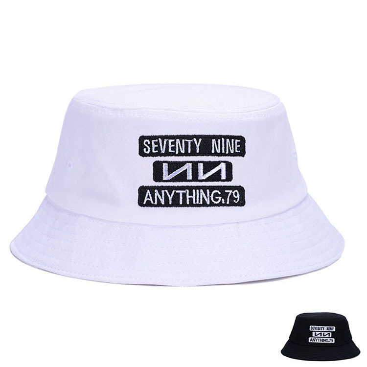 Custom Embroidered Promotional Cotton Twill Bucket Leisure Hat (YKY3225)