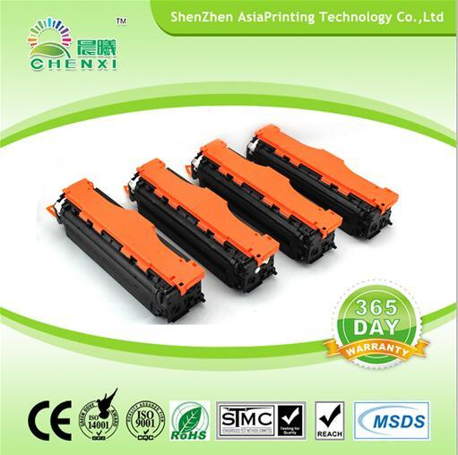 China Premium Color Toner Cc530A Cc531A Cc532A Cc533A Toner Cartridge for HP