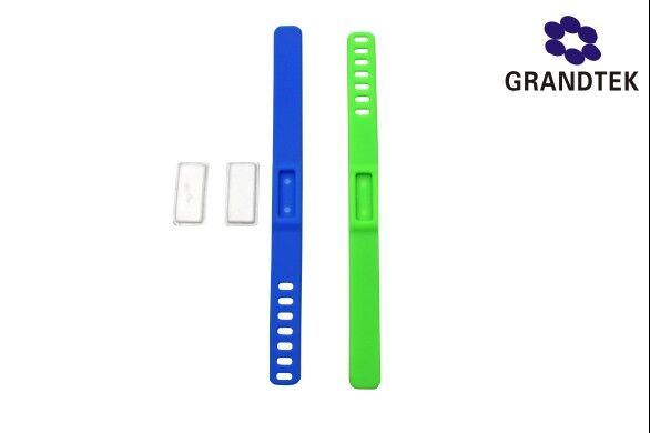 Replaced Refills Silicone Anti Mosquito Repellent Bracelet Wrist Band
