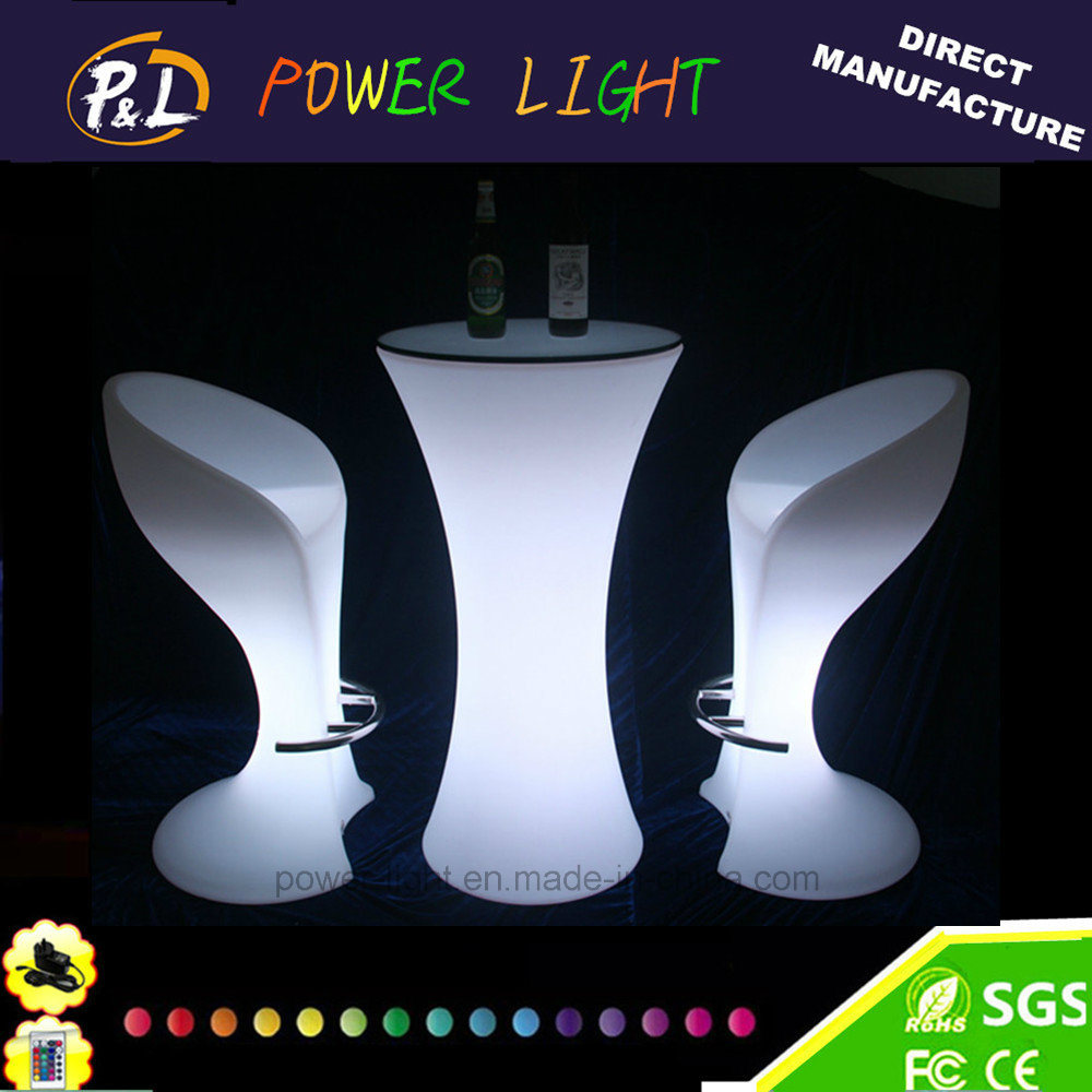 Light up RGB Color Change LED Chair for Bar