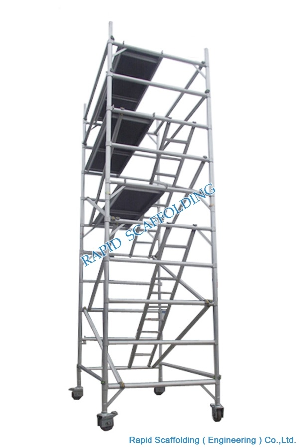 Mobile Aluminum Scaffold Tower Made in China