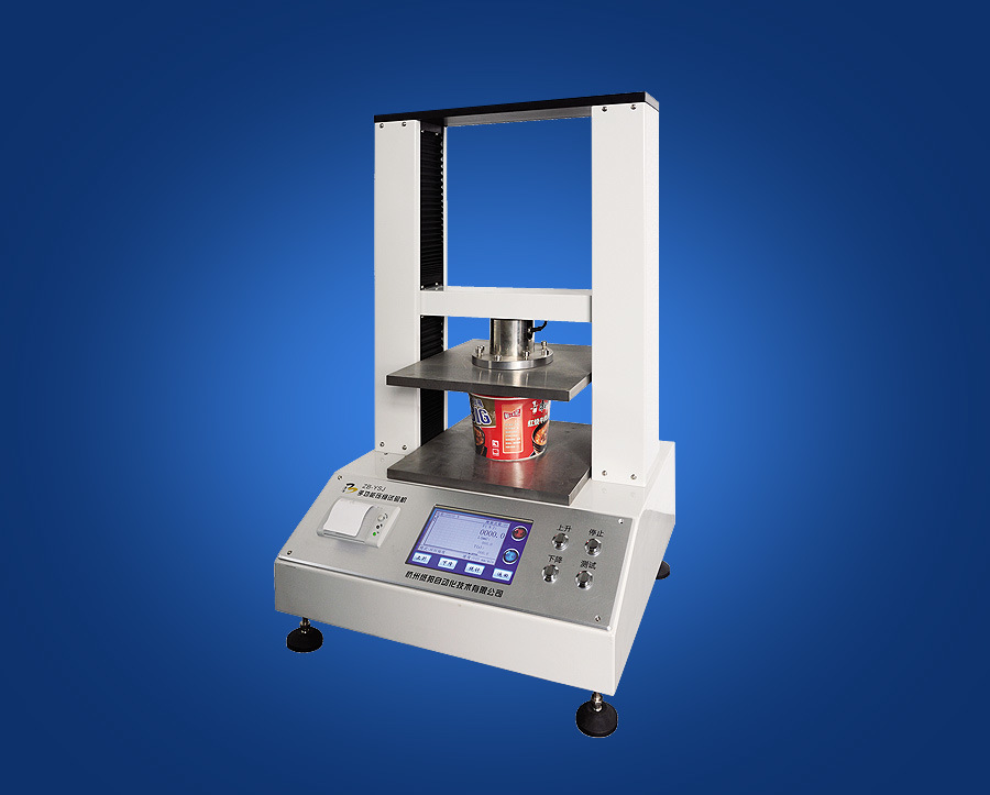China Professional Computer Control Paper Crush Tester
