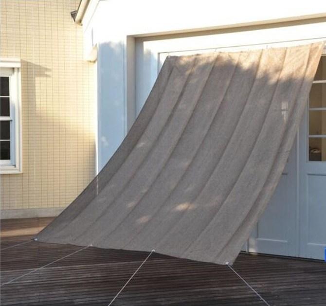 0.9X1.8m HDPE Window Shade / Sun Shade Net for Japan Market (Manufacturer)