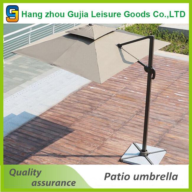 3FT Straight Rain Outdoor Sun Folding Patio Umbrella