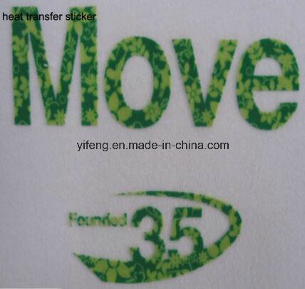 Heat Transfer Print Label Sticker for Shirt