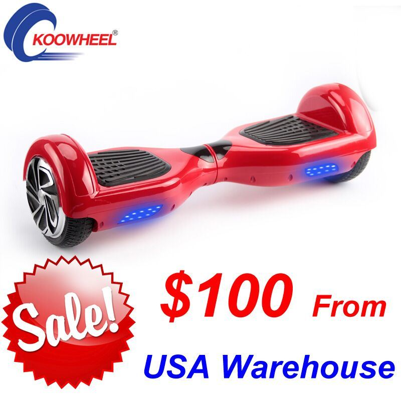 Two Wheel Smart Self Balance Electric Scooter 2 Wheels Hoverbord From USA Warehouse