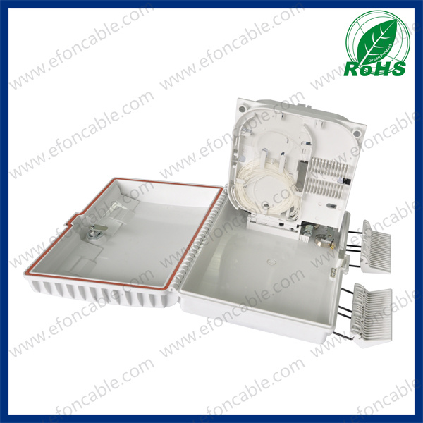 Fiber Optic FTTH Distribution Box1*16/Caja De Distribucion 16 Hilos