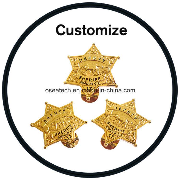 Custom Metal Logo Stickers