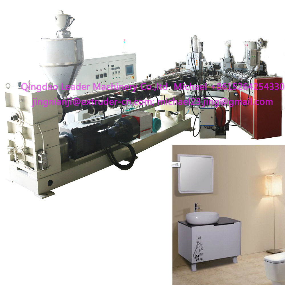 PMMA ABS Co-Extrusion Sanitary Ware Bathtub Sheet Board Making Machine