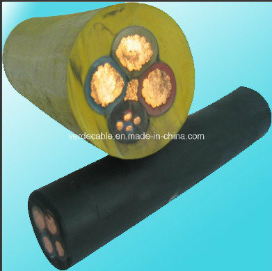 Oil Resistant Rubber Insulated Electrical Cable Rubber Cable