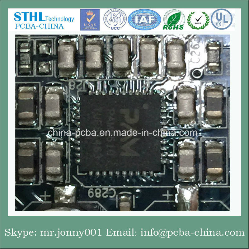 Rigid PCB PCBA Board with Immersion Gold Surface Treatment