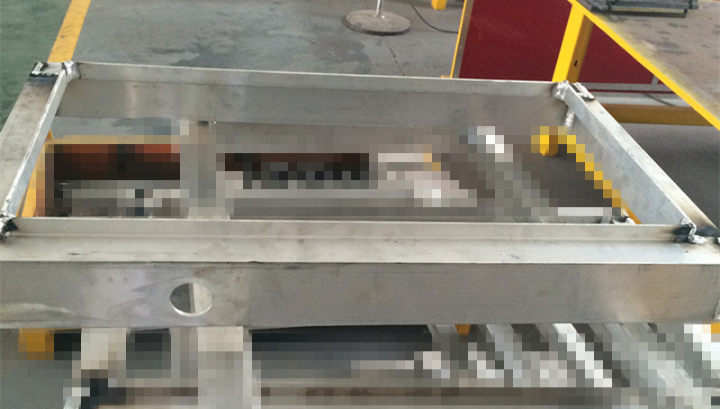 Corrosion Resistance Metal Stamping Frame Fabrication Spare Part