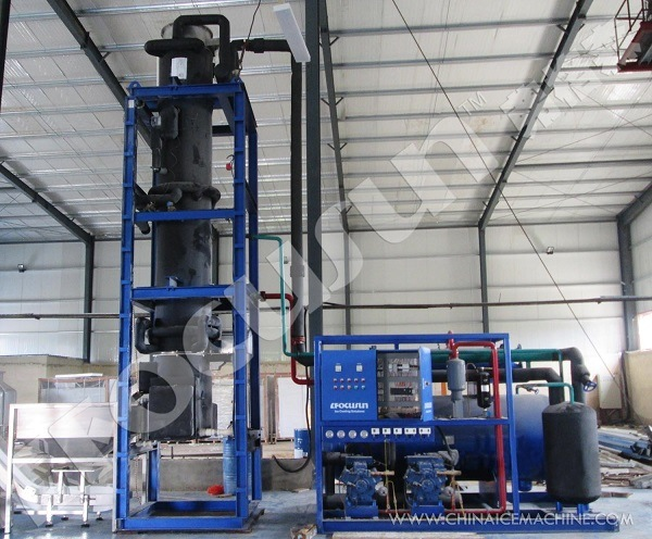 15 Tons/Day Tube Ice Machine