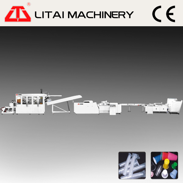Plastic Juice Cup Thermorming Production Line for Sale