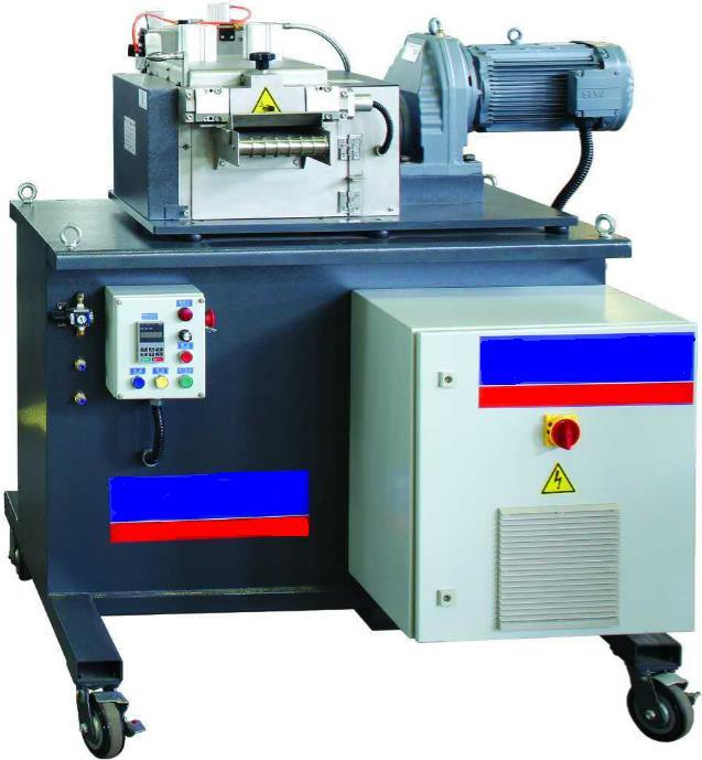 Lab Plastic Granulator Machine with Parallel Co-Rotating Twin Screw Extruder