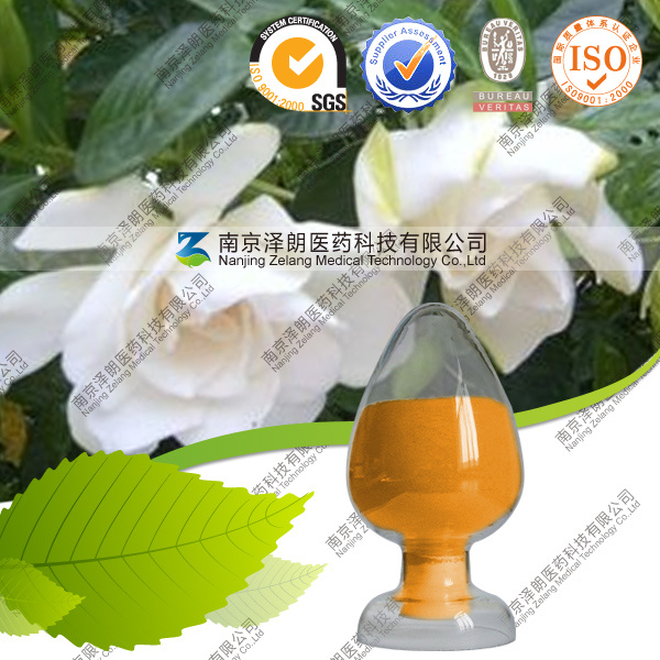 Natural Edible Pigment Gardenia Yellow Manufacturer