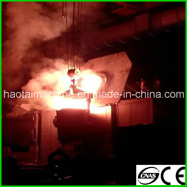 Steel Shell Induction Furnace for Melting