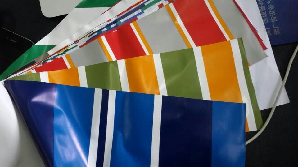 Popular PVC Tarpaulin with Printing Pattern (SGS, OEM, COC)