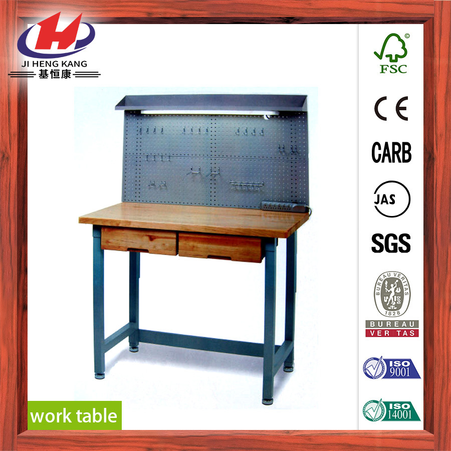 Rubber Wood Finger Joint Board Work Bench