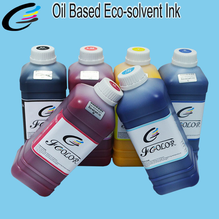 Above 24 Month Durable Compatible Roland Eco Solvent Ink for Epson Dx4 Dx5 Dx7 Head