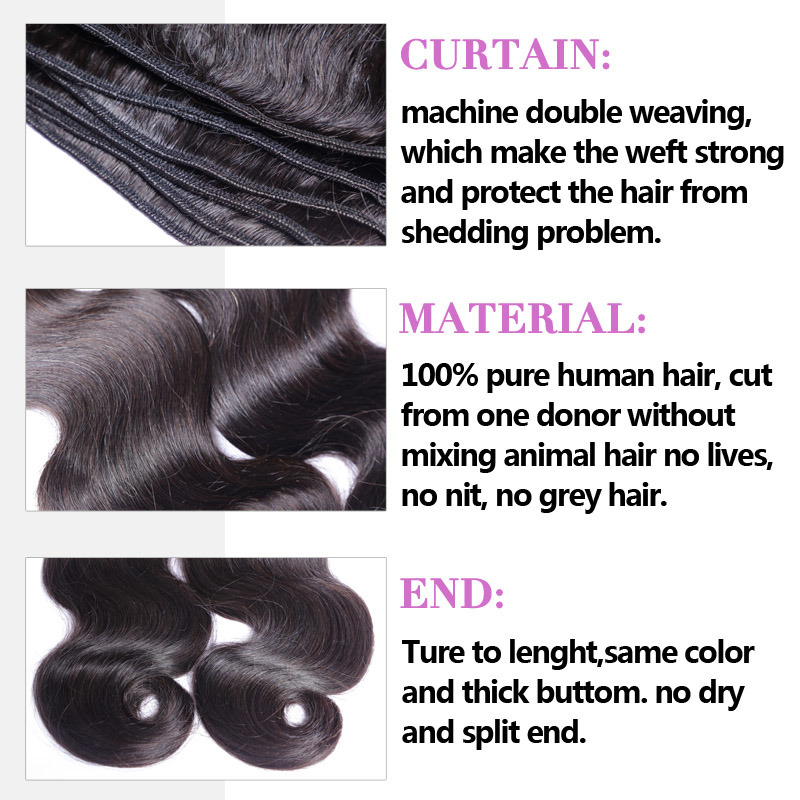 Wholesale 8A Unprocessed Remy Human Hair Weave 100% Brazilian Virgin Hair