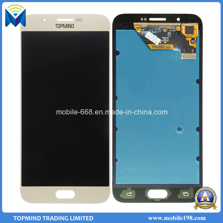Mobile Phone LCD Display Touch Screen Assembly for Samsung Galaxy A8