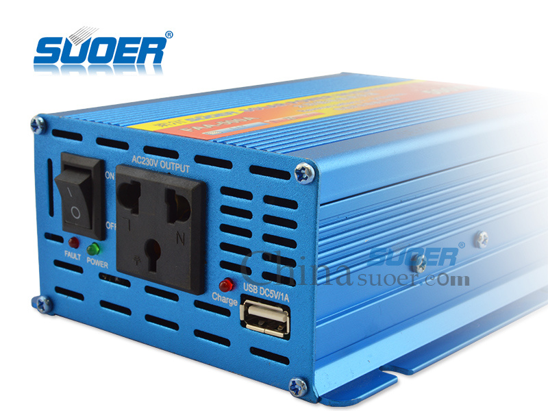 Solar 12V 220V DC to AC off Grid Car Power Inverter 500W (FAA-500A)