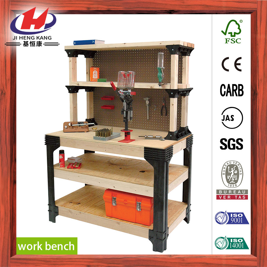 Rubber Wood Finger Joint Board Work Bench pictures & photos