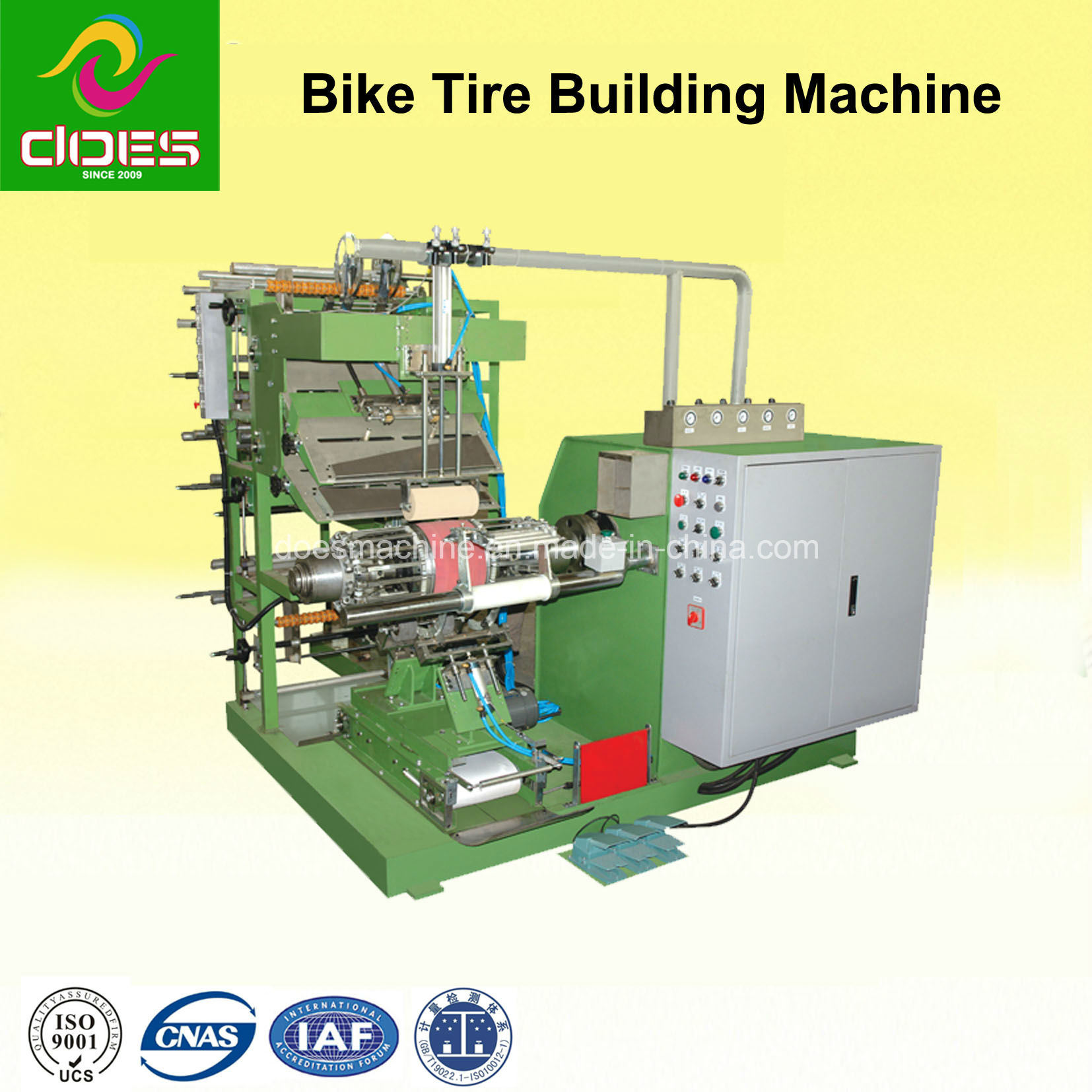 Rubber Tyre Machine for Making out Rubber with Bike /Electric Vehicle