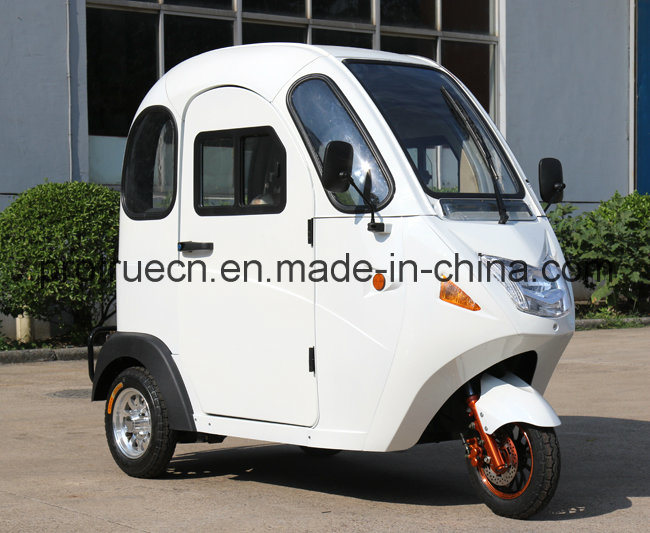 New Electric Mini Tricycle with Full Cabin