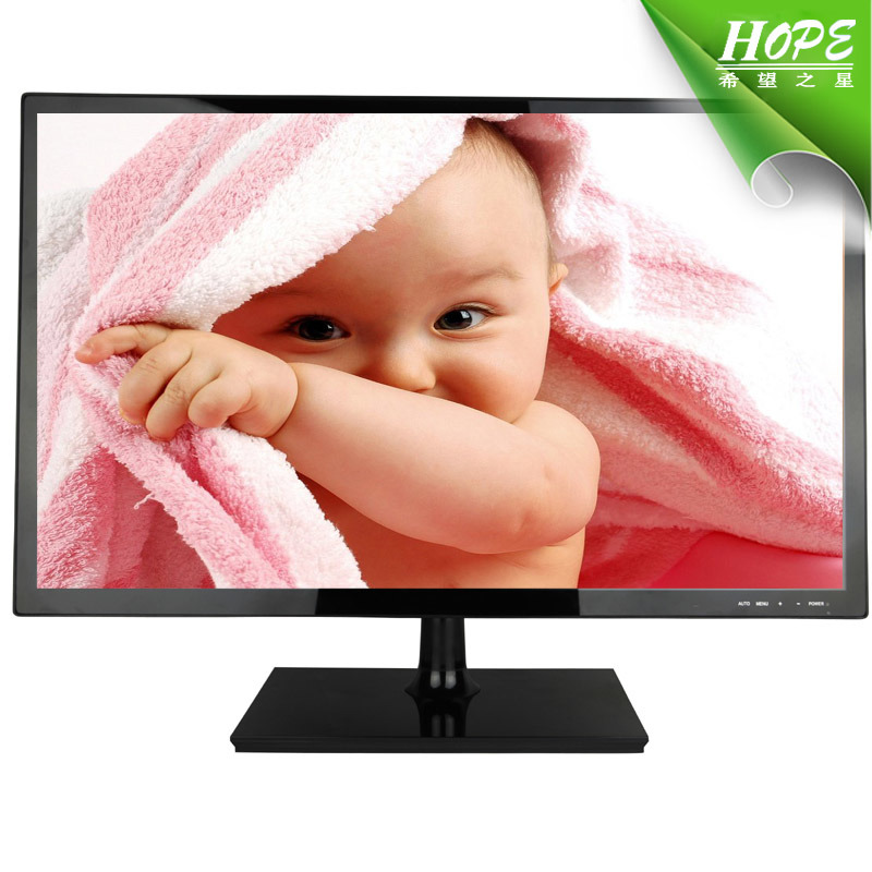 High Quality 24 Inch Wide Screen LCD LED Monitor with VGA HDMI DVI