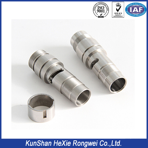 Stainless Steel Sleeve Bushings CNC Lathing Part