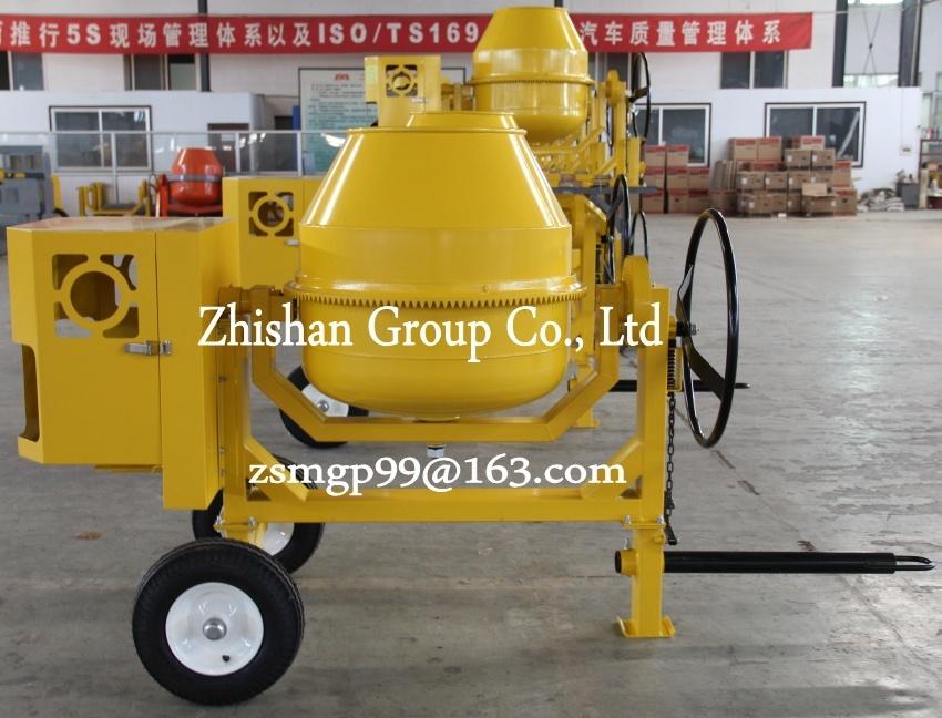 Cm280 (CM50-CM800) Zhishan Portable Electric Gasoline Diesel Concrete Mixer
