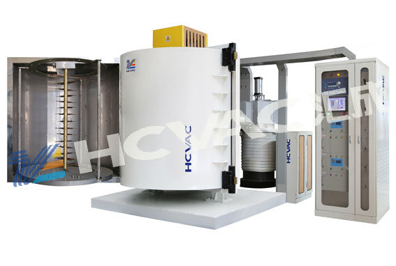 Disposable Plastic Cutlery Vacuum Coating Machine, Spoon/Fork Vacuum Metallizing Machine