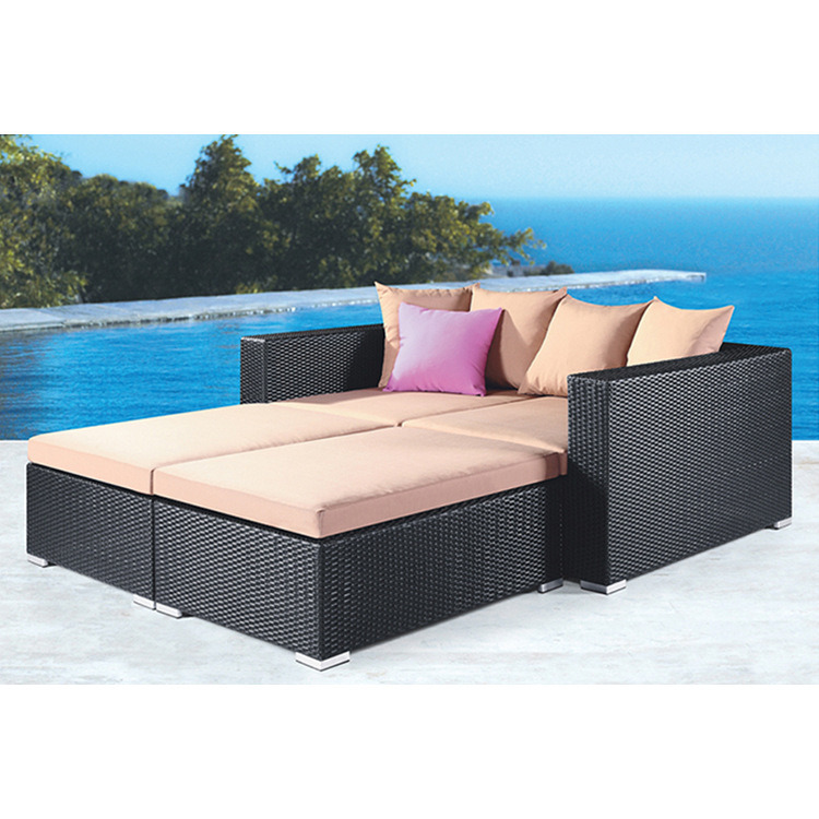 Patio Lying Bed Sunbed Beach Leisure Furniture