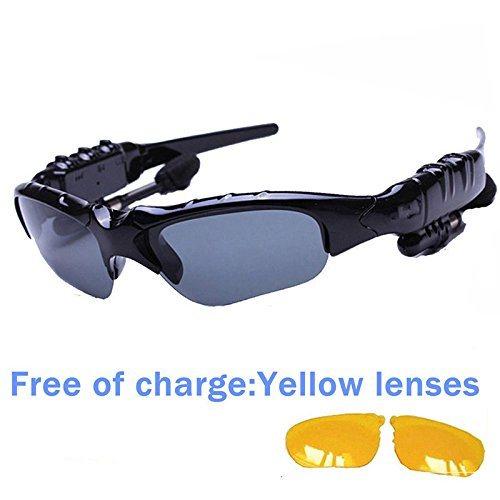 Bluetooth Headset MP3 Music Sport Sunglasses