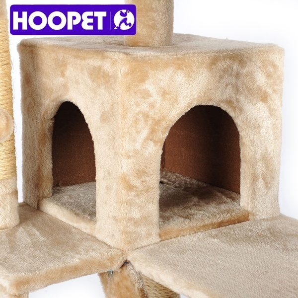 Cheap Happy Pet Cat Tree, Strong and Big Size Cat Furniture