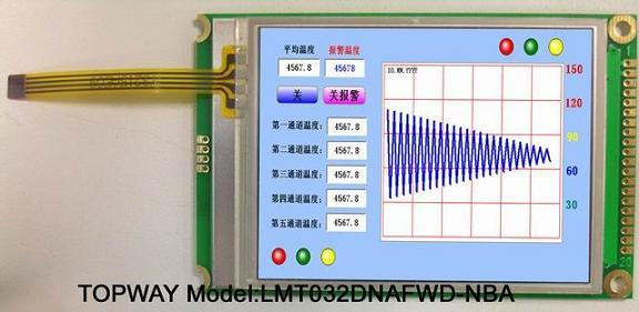 "320X240 TFT LCD Module 3.2"" LCD Display (LMT032DNAFWD)"