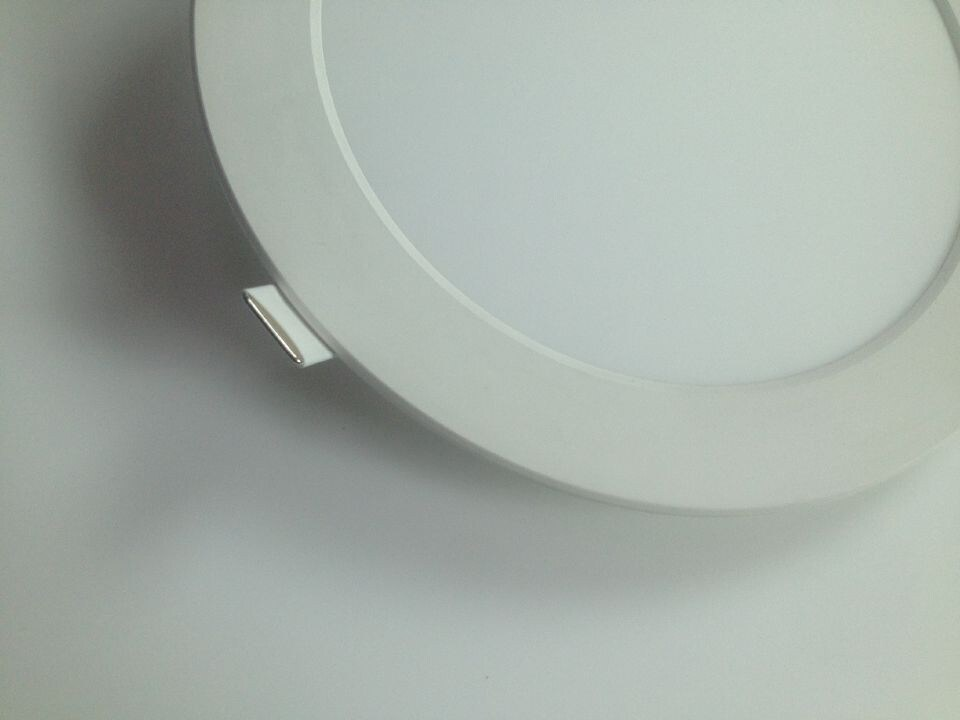 "8"" Ultra Slim Panel Light Round Panel Light Slim Down Light"