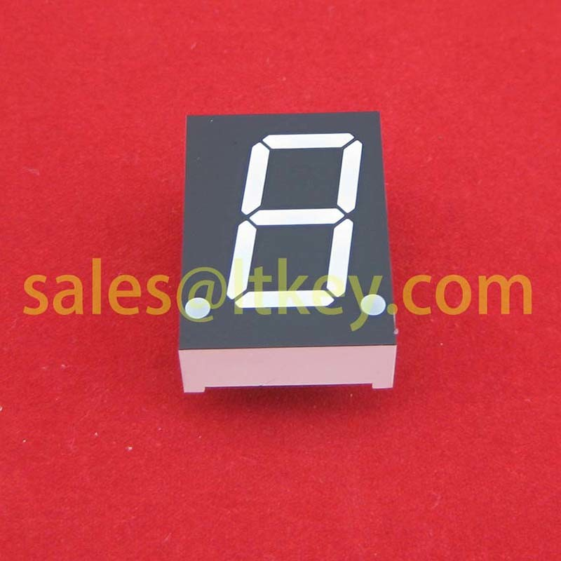 0.8 Inch Single Digit 7 Segment LED Display