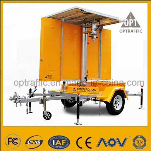 Ce Qualified Solar Powered LED Displays Mobile Vms