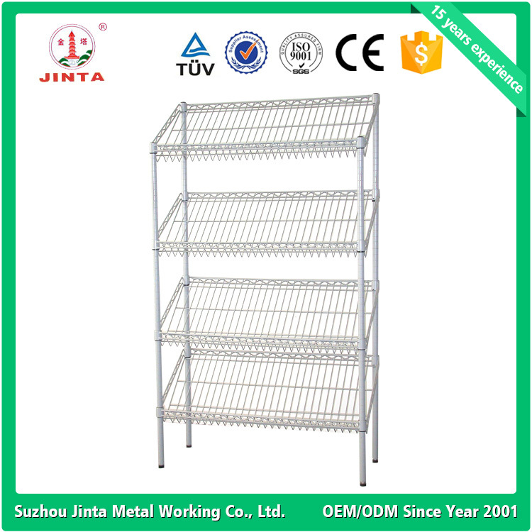 Nfs Proved Stainless Steel Kitchen Wire Shelving (JT-F04)