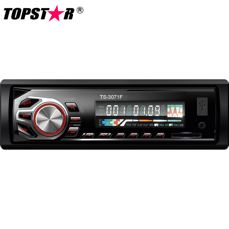 Fixed Panel Car SD Player Car MP3 Player with Pre-AMP Output